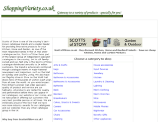 traditional-products.shoppingvariety.co.uk screenshot