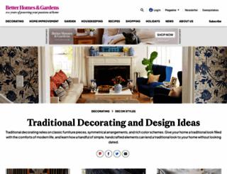 traditionalhome.com screenshot