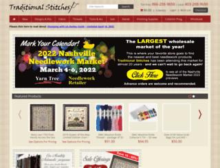 traditionalstitches.com screenshot