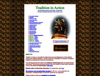 traditioninaction.org screenshot