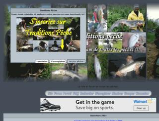 traditions-peche.naturalforum.net screenshot