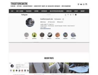 traditionswerk.de screenshot