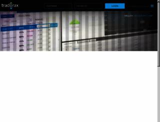 tradorax.com screenshot