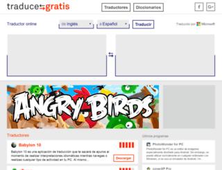 traducegratis.com screenshot
