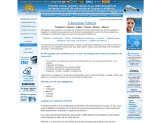 traductores.eluruguayo.com screenshot