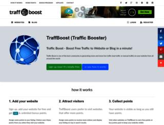 traffboost.net screenshot