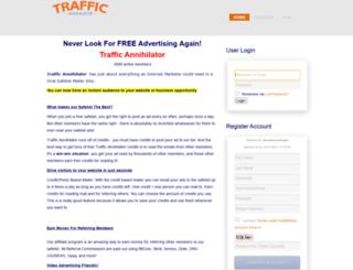 traffic-annihilator.com screenshot