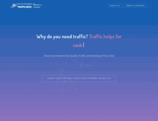 traffic-bots.com screenshot