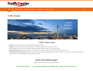 traffic-dealer.de screenshot