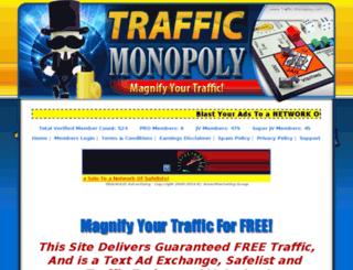 traffic-monopoly.com screenshot