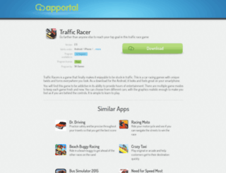 traffic-racer.apportal.co screenshot