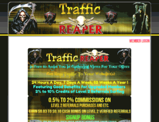 traffic-reaper.com screenshot