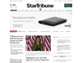traffic.startribune.com screenshot