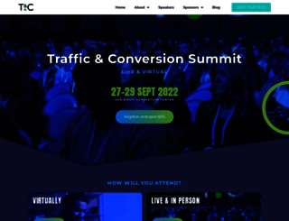 trafficandconversionsummit.com screenshot