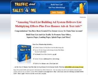 trafficandsales4.me screenshot