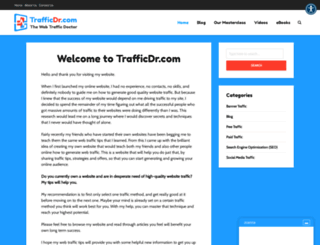 trafficdr.com screenshot