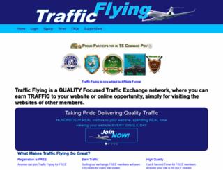 trafficflying.com screenshot
