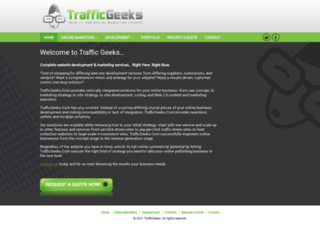 trafficgeeks.com screenshot