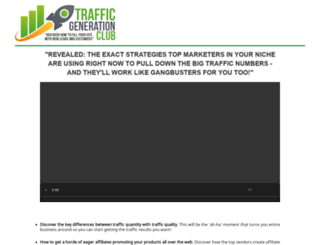 trafficgenerationclub.com screenshot