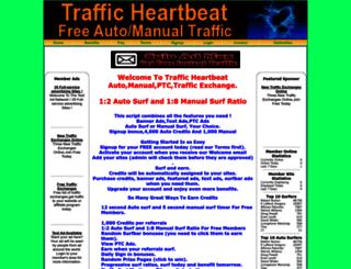 trafficheartbeat.net screenshot