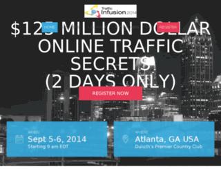 trafficinfusion2014.com screenshot