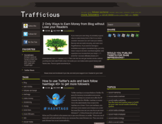 trafficious-social-seo.blogspot.com screenshot
