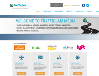 trafficjammedia.com screenshot