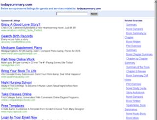 trafficlaw.todaysummary.com screenshot