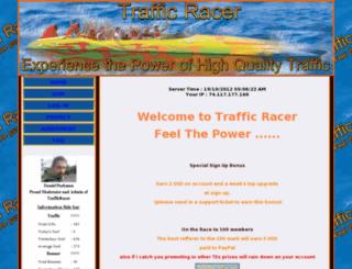 trafficracer.info screenshot
