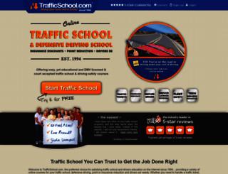trafficschool.com screenshot
