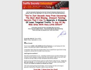 trafficsecretsunleashed.com screenshot