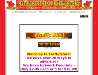 trafficstars.supertextmarketing.com screenshot