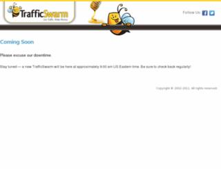 trafficswarmmail.com screenshot