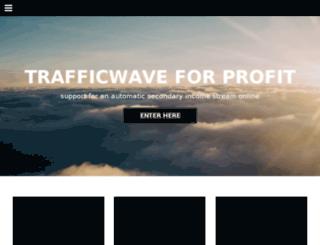 trafficwaveforprofit.com screenshot