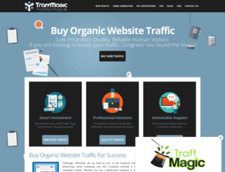 traffmagic.com screenshot