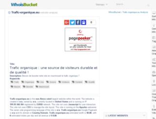 trafic-organique.eu.whoisbucket.com screenshot