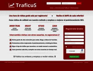 traficus.com screenshot