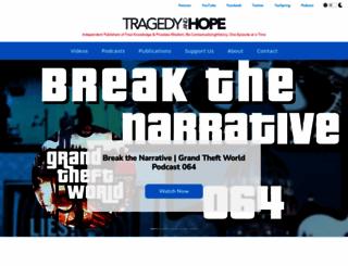 tragedyandhope.com screenshot
