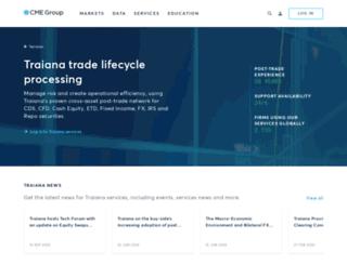 traiana.com screenshot