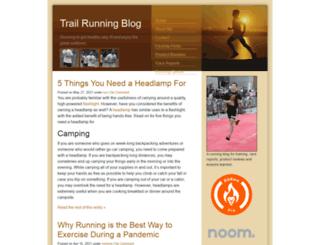 trail-running-blog.com screenshot