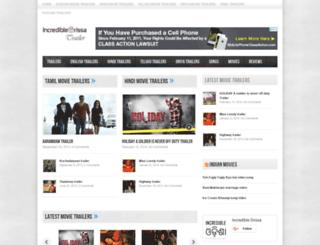 trailer.incredibleorissa.com screenshot