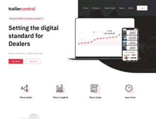 trailercentral.com screenshot