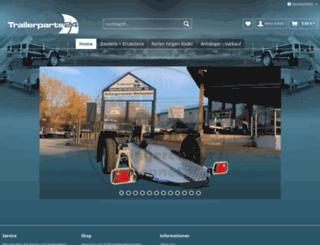 trailerparts24.com screenshot