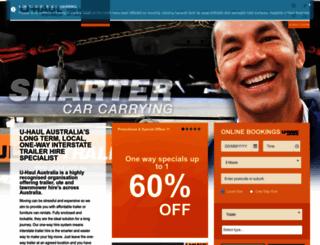 trailerrentals.com.au screenshot