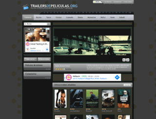 trailersdepeliculas.org screenshot