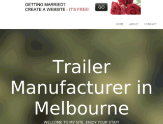 trailersmelbourne.bravesites.com screenshot