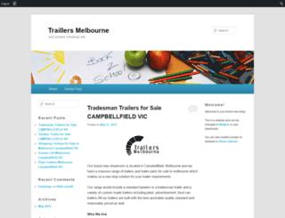 traillersmelbourne.edublogs.org screenshot