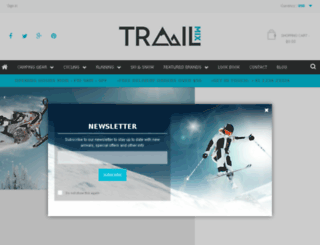 trailmix.bakedthemes.com screenshot