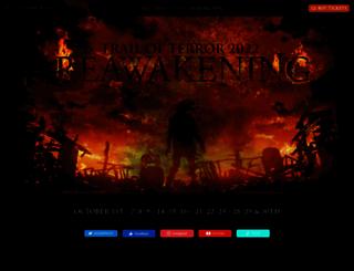 trailofterror.com screenshot
