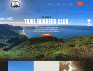 trailrunnersclub.com screenshot